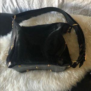 Black calf Bag